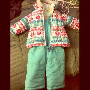 NWOT Carter's Snow Pants and Parka Size 12 months